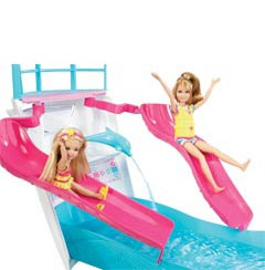 Barbie Sisters Cruise Ship Toys Games