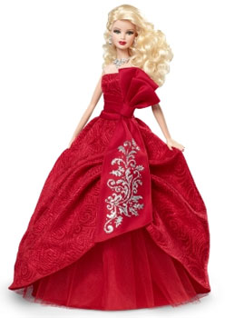Amazon.com: Barbie Collector 2012 Holiday Doll: Toys & Games