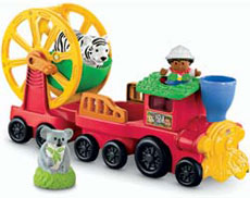 Fisher-Price Little People Zoo Talkers Animal Sounds Zoo Train