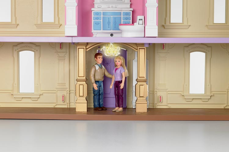 Amazon Com Fisher Price Loving Family Dream Dollhouse