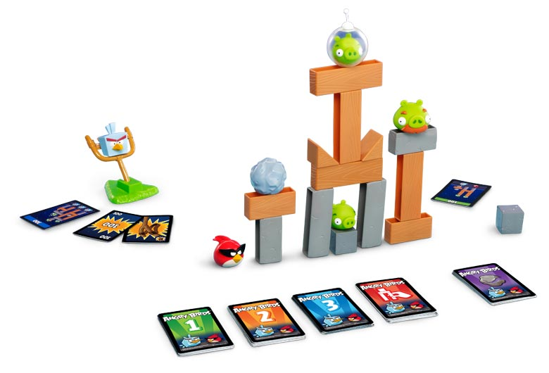 Amazon.com: Mattel Angry Birds: Birds in Space Game: Toys & Games