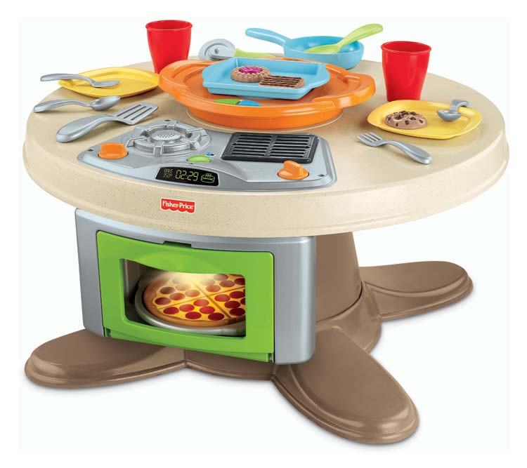 Fisher Price Servin Surprises Kitchen And Table