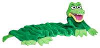 CuddleUppets Green Crocodile
