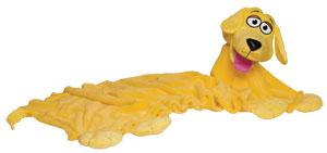 CuddleUppets Yellow Dog
