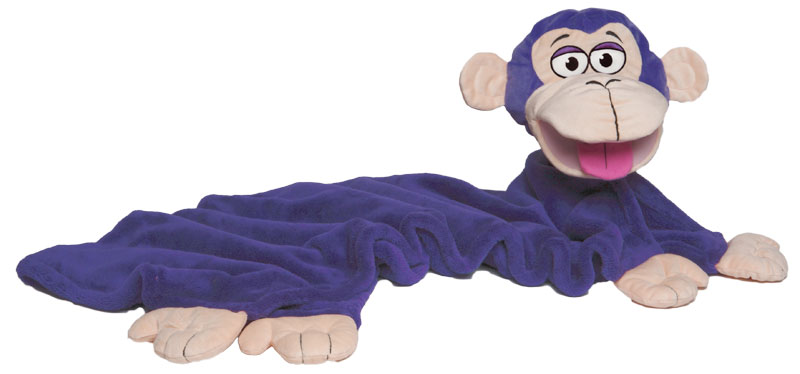 Amazon.com: CuddleUppets Purple Monkey: Toys & Games
