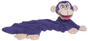 CuddleUppets Purple Monkey