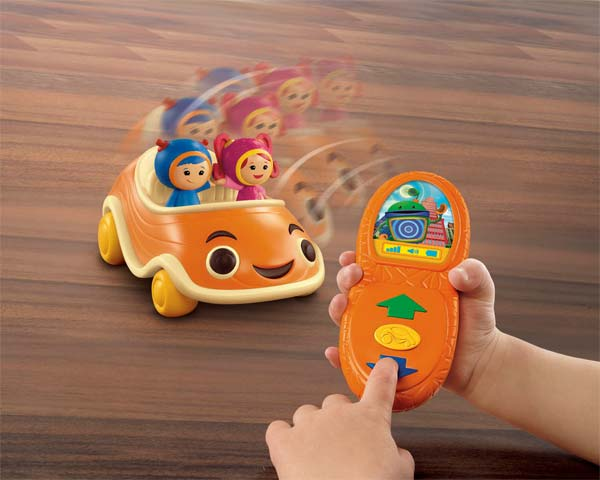 Fisher Price Team Umizoomi Remote Control Car