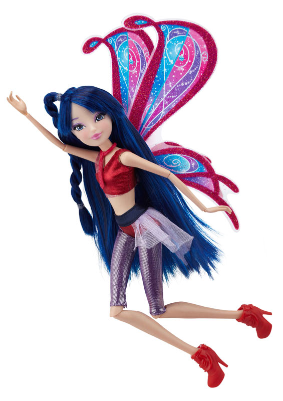 "Amazon.com: Winx 11.5"" Deluxe Fashion Doll Believix - Musa: Toys"