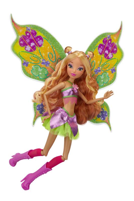 Winx club 11.5 deluxe fashion doll flora