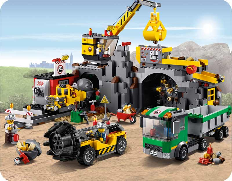 lego city 4204 the mine discontinued by manufacturer toys games. Black Bedroom Furniture Sets. Home Design Ideas