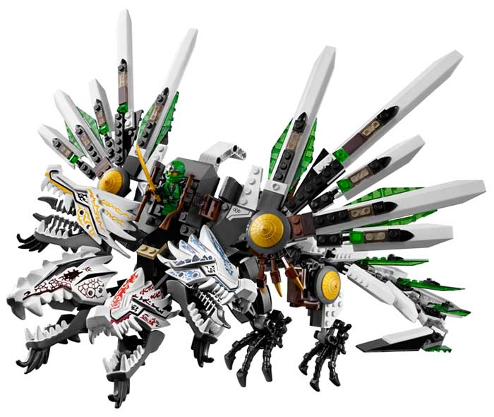 Lego ninjago 9450 epic dragon battle - Lego ninjago dragon a 4 tetes ...