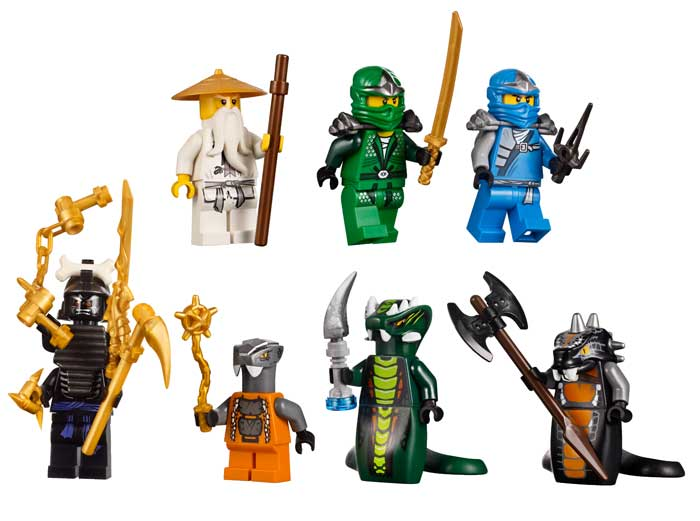 Amazon.com: LEGO Ninjago 9450 Epic Dragon Battle