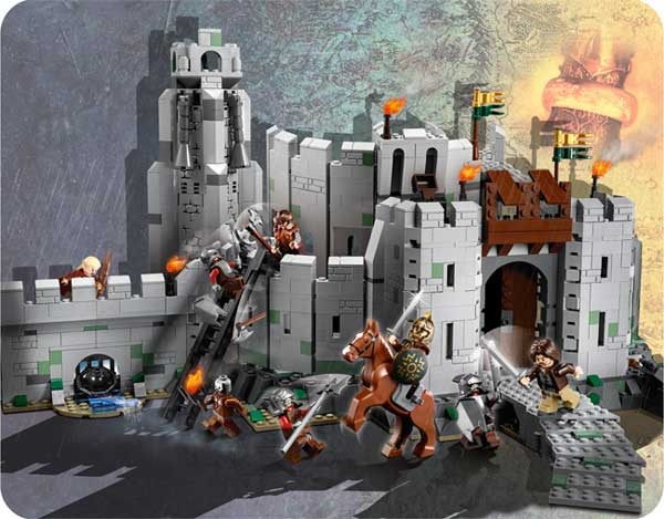 Lord Of The Rings Battle Of Helm S Deep Lego Moc