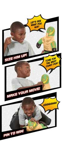 WWE Brawlin' Buddies Rey Mysterio Plush Figure