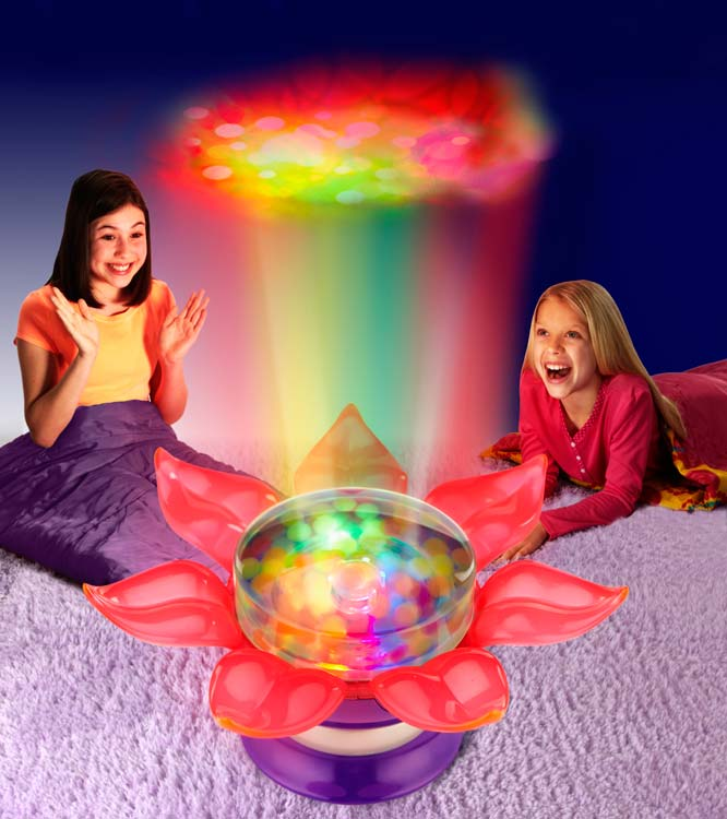 Amazon flower power light show toys games orbeez flower power light show aloadofball Gallery