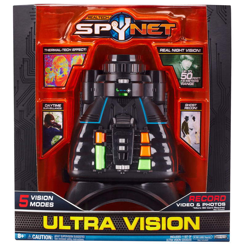 918034a4965ae Amazon.com  SpyNet Ultra Vision Goggles with 5 Vision Modes by Jakks ...