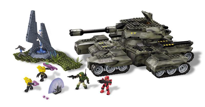 Amazon.com: Mega Bloks Halo UNSC Rhino: Toys & Games