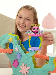 LITTLEST PET SHOP Fairies Fairy Fun Rollercoaster