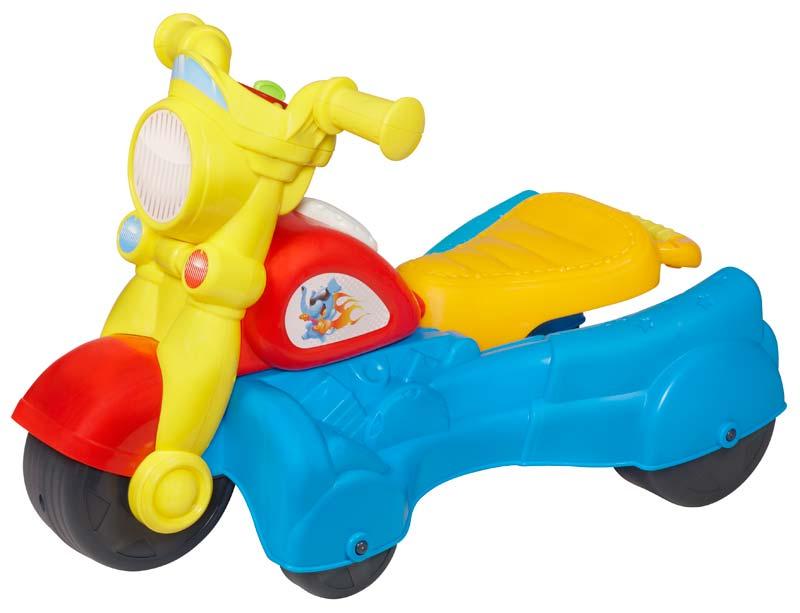Amazon Com Playskool Rocktivity Walk N Roll Rider Blue