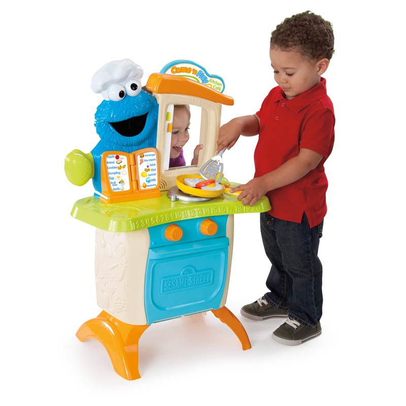 Playskool Toy Food : Playskool sesame street come n play cookie monster