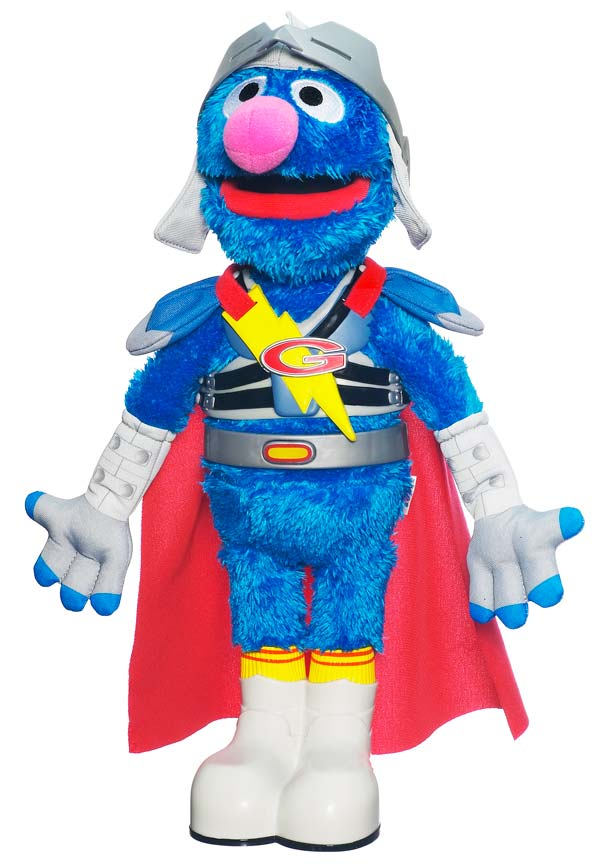Amazon.com: Flying Super Grover 2.0: Toys & Games