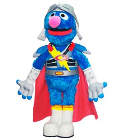 PLAYSKOOL SESAME STREET Flying Super Grover 2.0