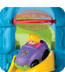 Fisher-Price Little People Wheelies Loops 'n Swoops Amusement Park