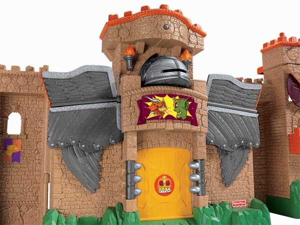Amazon.com: Fisher-Price Imaginext Eagle Talon Castle