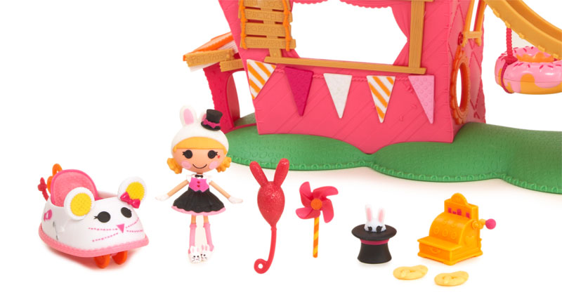 Nice Mini Lalaloopsy Silly Fun House Playset With Misty Mysterious