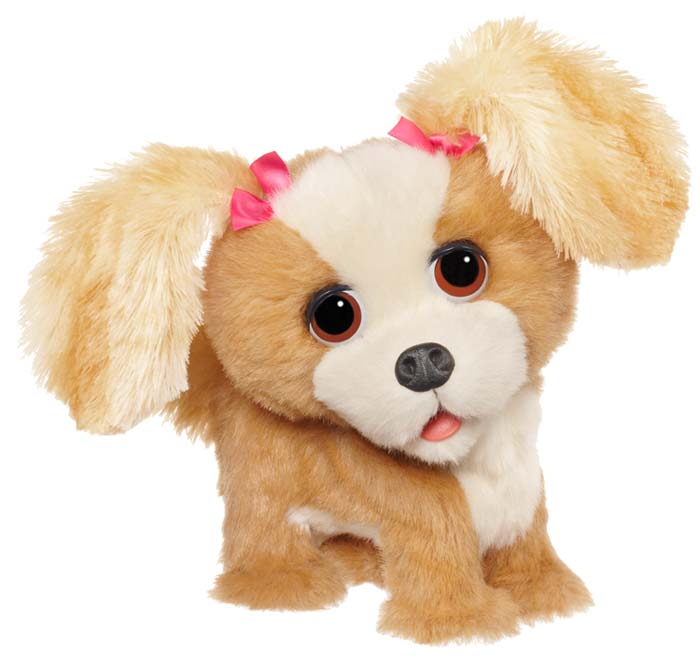 amazon com furreal friends bouncy my happy to see me pup figure