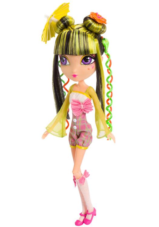 Amazon.com: La Dee Da Runway Vacay, Tylie as Kabuki Cutie