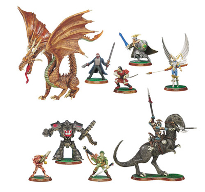 Heroscape Mimring Dragon Figure with Card - Rise of the Valkyrie