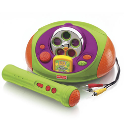 fisher price karaoke machine