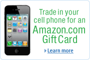 Trade In Your Cell Phone for an Amazon.com Gift Card