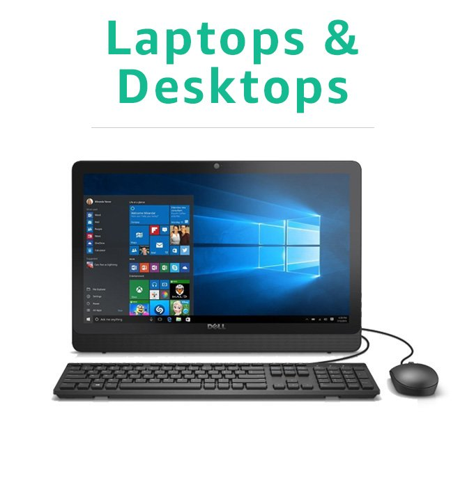 Certified Refurbished Laptops & Desktops