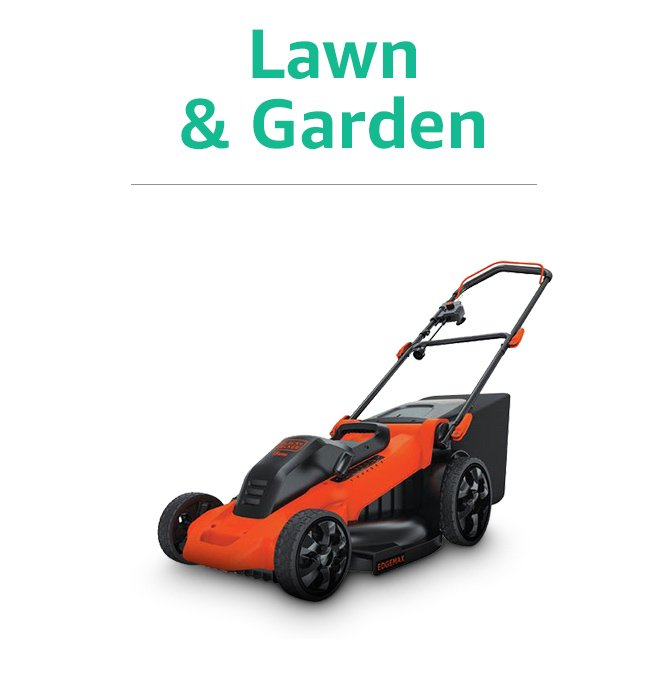 Certified Refurbished Lawn and Garden Products