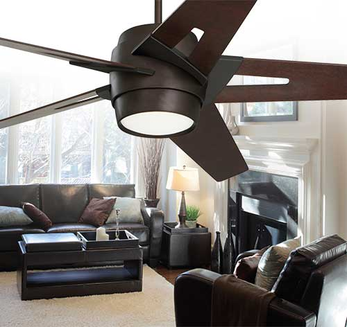 Emerson Ceiling Fans Cf550dmorb Luxe Eco Modern Ceiling