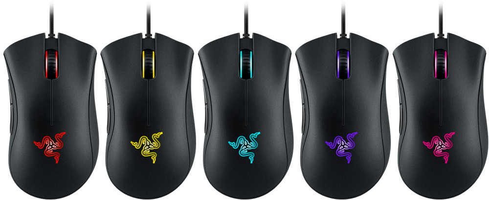 Razer DeathAdder Essential - Left-Handed Esports Ergonomic Gaming Mouse -  3,500 Adjustible DPI
