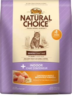Amazon Com Natural Choice Indoor Senior Cat Chicken And