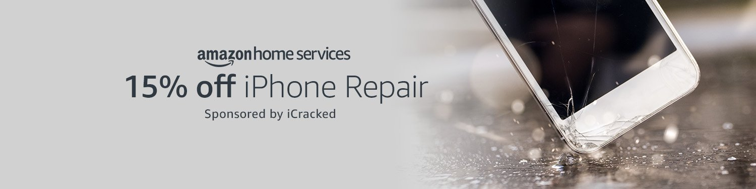 Save 15% on iPhone repairs