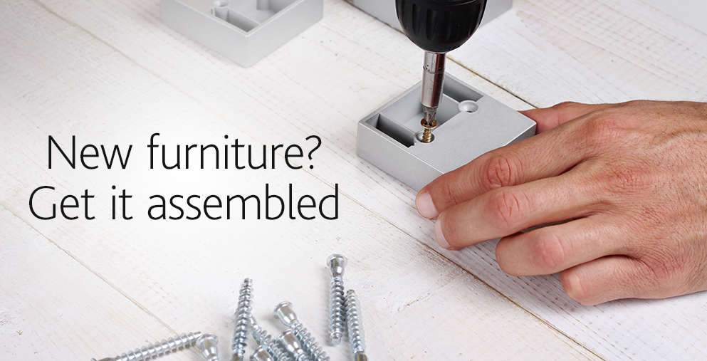 Get Your New Furniture Assembled for You