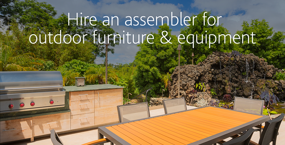 Get Patio Furniture Assembled