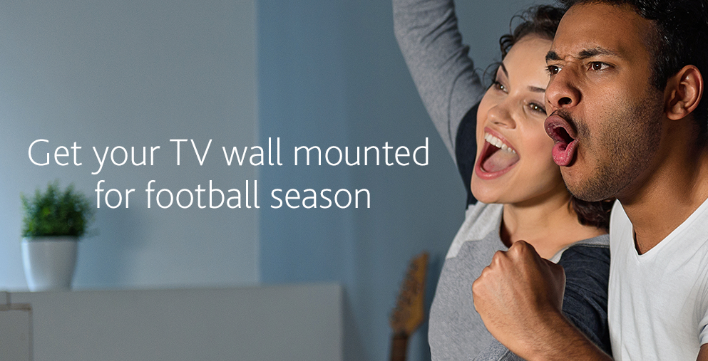 Get Your New TV Wall-Mounted