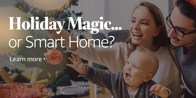Holiday Magic... or Smart Home?
