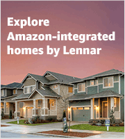 Explore Amazon-Integrated Homes by Lennar