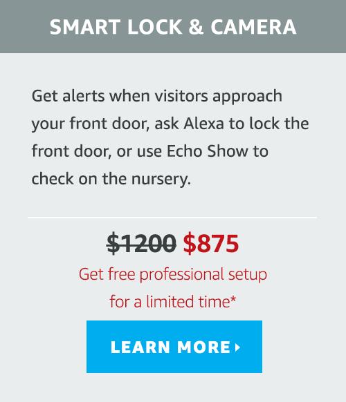 Smart Lock and Camera