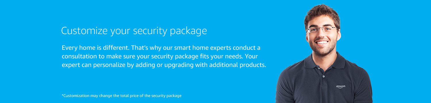 Customize your security package