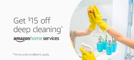 Get $15 off deep cleaning