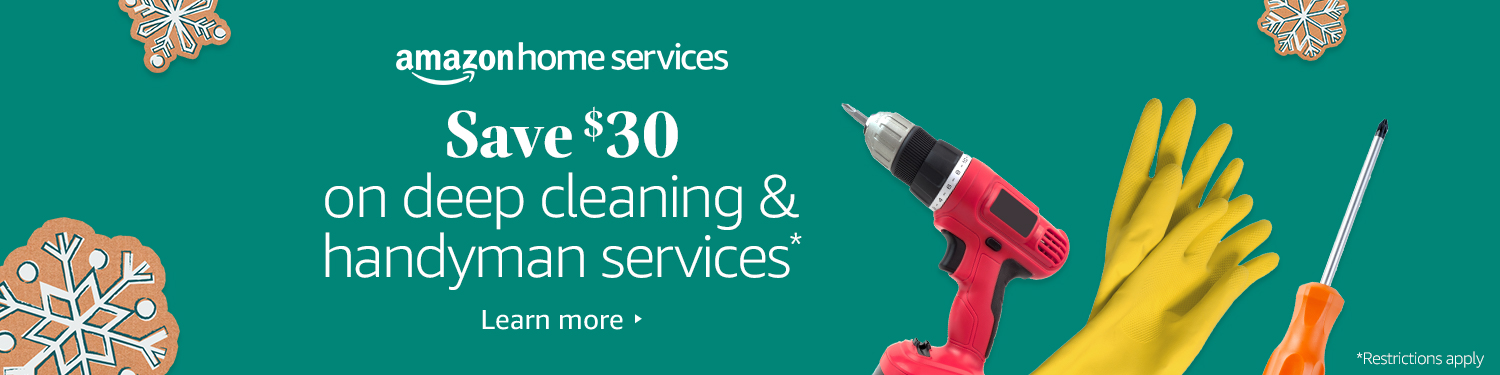 Save $30 on Deep Cleaning and Hourly Handyman Services