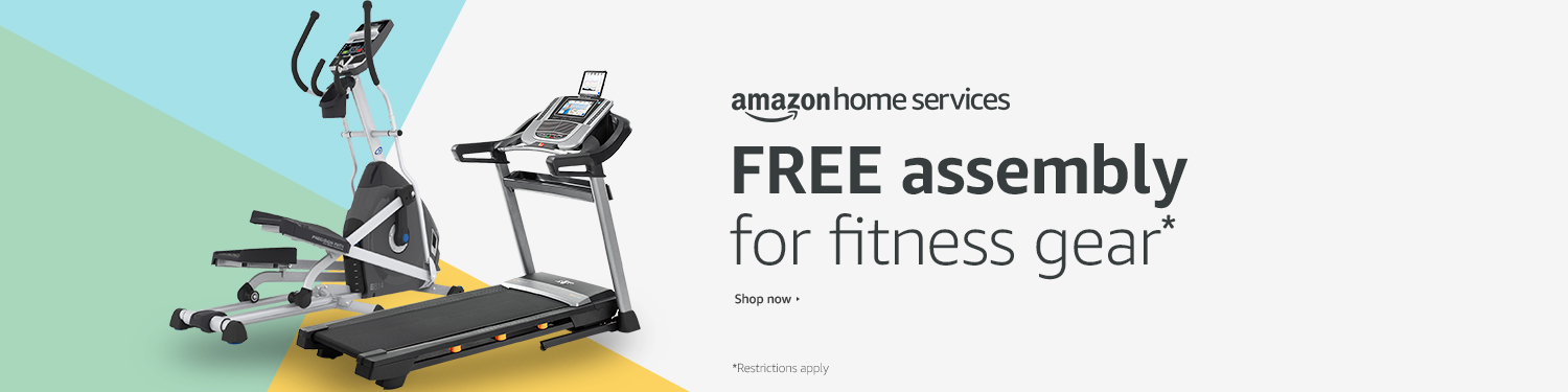 Free Assembly with Select Treadmills, Ellipticals & Exercise Bikes